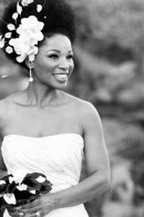 natural hair wedding idea 4