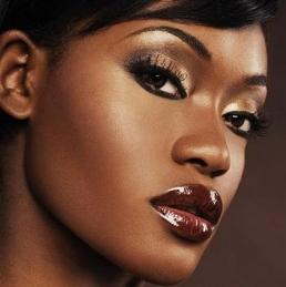 brown skin women